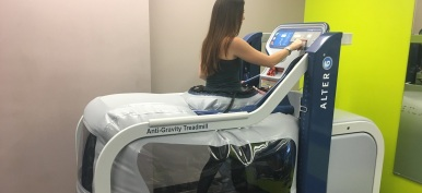 AlterG at Wall Street Pain Relief Center