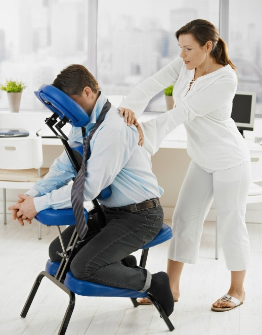 Chair Massage Corporate Wellness